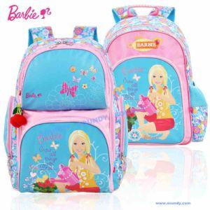 Barbie Heat-Transfer Printing Backpack, Shcool Bag