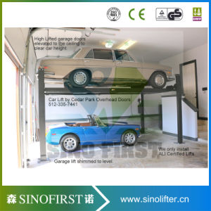 Two 4 Post High Quality Stable Cheap Auto Post Lift pictures & photos