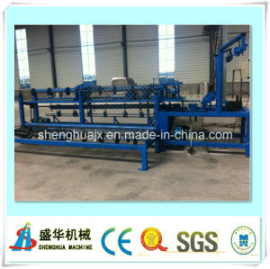 Single Wire Automatic Chain Link Fence Machine (diamond fence machine) pictures & photos