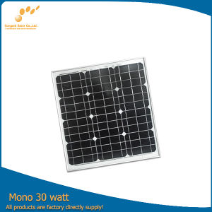 CE Certified Solar Panel From China Manufacturer (SGM-30W)