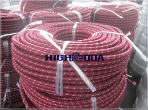 Textile Braid Cover Rubber Oil Hose pictures & photos
