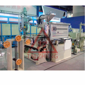 Halogen Free Telecommunications Cable Extrusion Machine pictures & photos