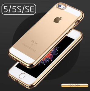 Electroplate TPU Mobile Phone Case for iPhone 5/5s/Se pictures & photos