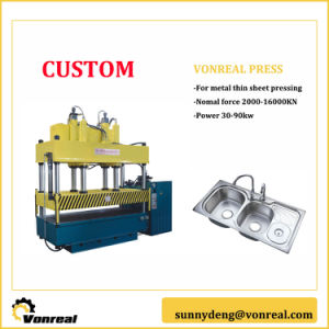 4 Column Hydraulic Press with High Precision pictures & photos