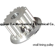 Timing Pulley with Single Flange, Pulley pictures & photos