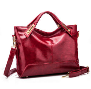 Wholesale High Quality Lady Leather Handbags Tote Bag pictures & photos