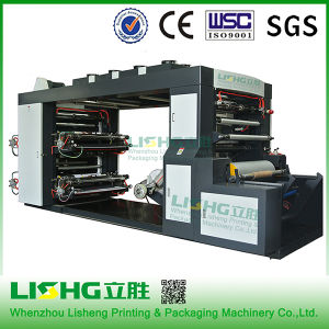 4 Color High Speed Flexo Printing Machine for Plastic Bag pictures & photos