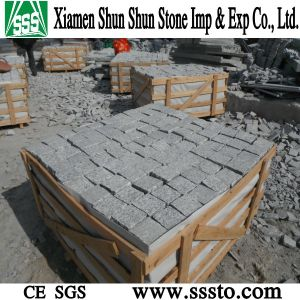 Grey Granite Cubic Stone for Paving pictures & photos