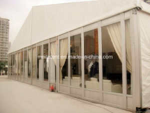 20m Glass Walling Marquee Wedding Party Tent with Curtains pictures & photos