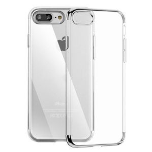 Luxury Ultra Thin Clear Plating Electroplating TPU Soft Case for iPhone 7 Case Cover Phone Cases (XSDD-082) pictures & photos