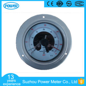 4′′100mm All Stainless Steel Panel Mounted Electric Contact Manometer pictures & photos