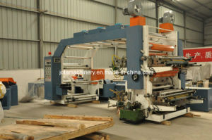 Kraft Paper Flexo Printing Machine (JTH-4100) pictures & photos