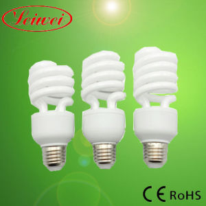 T4 15W-30W Half Spiral Energy Saving Light pictures & photos