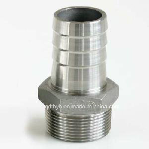 High Quality Stainless Steel Pipe Fitting-Hose Nipple pictures & photos