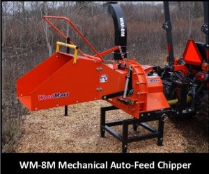 Tractor Wood Chipper TM-8, Pto Driven, Mechanical Feeding, CE Approval pictures & photos