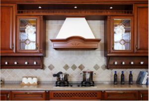 Solid Wood Kitchen Furniture Customized Kitchen Design (zq-015) pictures & photos
