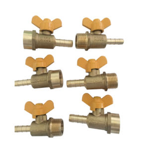 Brass Gas Valve with Butterfly Handle (TP-G01) pictures & photos