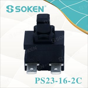 Self-Locking/Momentary vacuum Cleaner Rectangular Push Button Switch pictures & photos