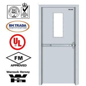 Steel Fire Door/ Fireproofing Steel Door/ Fireproof Door/with Vison Glass