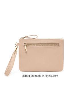 Fashion Women PU Wrist Purse Bag Leisure Cosmetic Bag pictures & photos