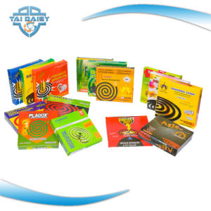 Green Color Mosquito Coil/Colorful Mosquito Coil pictures & photos