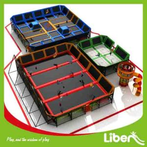 Large Build Indoor Trampoline World for Kids and Adults pictures & photos