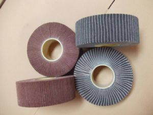 Non-Woven Falp Wheels with Sand Paper pictures & photos