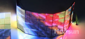 Rubik P10 Soft LED Display for Rental pictures & photos