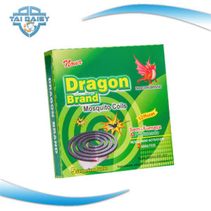 0.3% D-Trans Allethrin Ingredients Green Mosquito Coil Factory in China pictures & photos