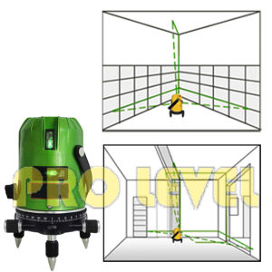 Multiline and 2V1h1d Self-Leveling Green Laser Level (SK-268PG) pictures & photos