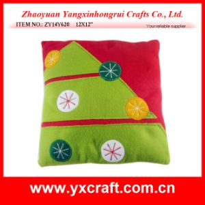 Christmas Decoration (ZY14Y620 12X12′′) Christmas Sofa Decoration Cushion Pillow pictures & photos