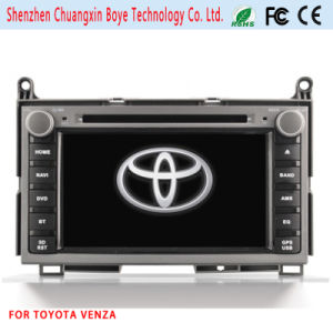 Special Car DVD Player Fortoyota Venza with GPS Navigation pictures & photos