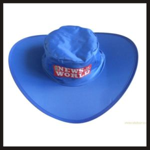 Customized Promotional Fashion 190t Polyester Waterproof Foldable Hat pictures & photos
