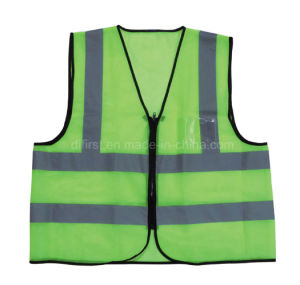 High Visibility Reflective Safety Vest with En471 (DFV1010) pictures & photos