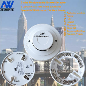 Dual LED Photoelectric Smoke Detector pictures & photos