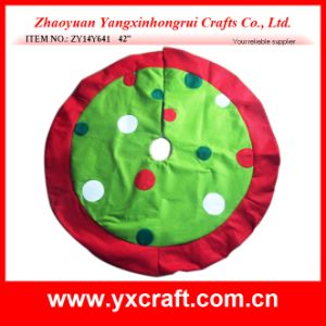 Christmas Decoration (ZY14Y641 42′′) Tree Skirt pictures & photos
