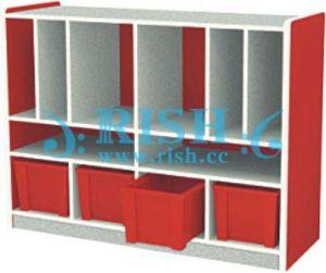 New Design Wooden Shelf for Kids (RS137)