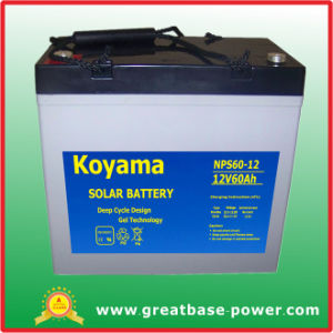 60ah12V Solar Battery for Street Lighting System pictures & photos