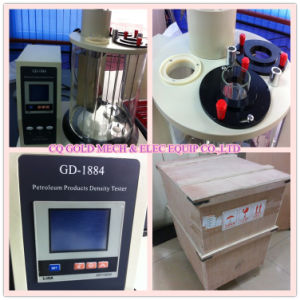 Gd-1884 Petroleum Products ASTM D1298 Hydrometer Method Density Meter pictures & photos