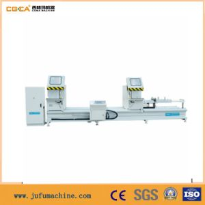 PVC Aluminum Door Frame Double Head Cutting Machine pictures & photos