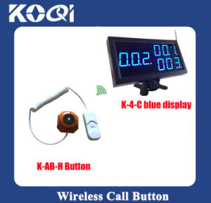 CE Approved 433.92MHz Hospital Wireless Patient Calling System pictures & photos