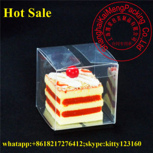 Food Grade Pet Plastic Clear Cupcake Box for Package pictures & photos