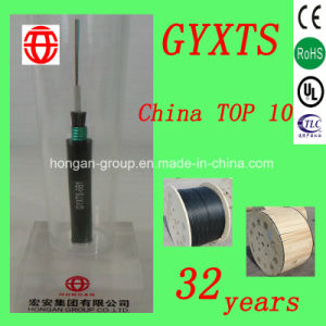 Gyxts 24 Core Outdoor Central-Tube Steel Wires Armoured Optical Cable for Aerial or Buried pictures & photos