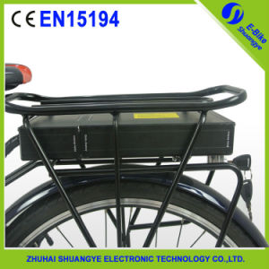 Shuangye 48V 20 Ah Rear Rack Lithium Battery for Ebike pictures & photos