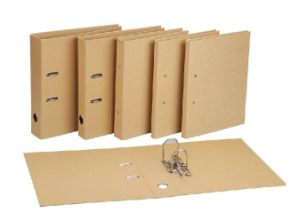 Cheap A4 PP Lever Arch File with Metal Edge Protector pictures & photos
