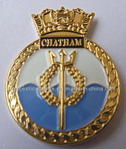 Gold Plating Lapel Pin (MJ-PIN-128) pictures & photos