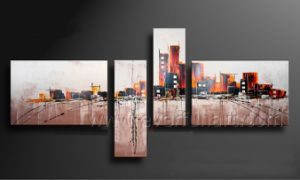 Modern Canvas Abstract Oil Painting for Wall Decor (XD4-206) pictures & photos