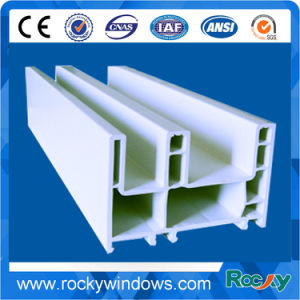 China Top Quality Plastic Extruded UPVC Profiles pictures & photos