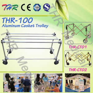 Aluminum Alloy Casket Trolley (THR-100) pictures & photos