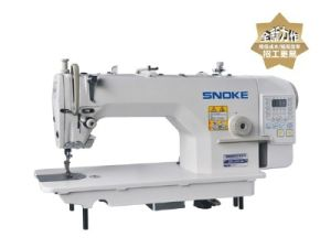 High-Speed Single Needle Lockstitch Industrial Sewing Machine